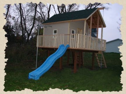 elevated clubhouse plans free download pdf woodworking