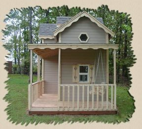 porch swing childs playhouse