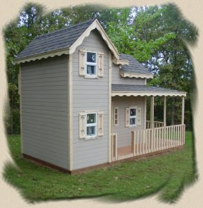 country childs playhouse