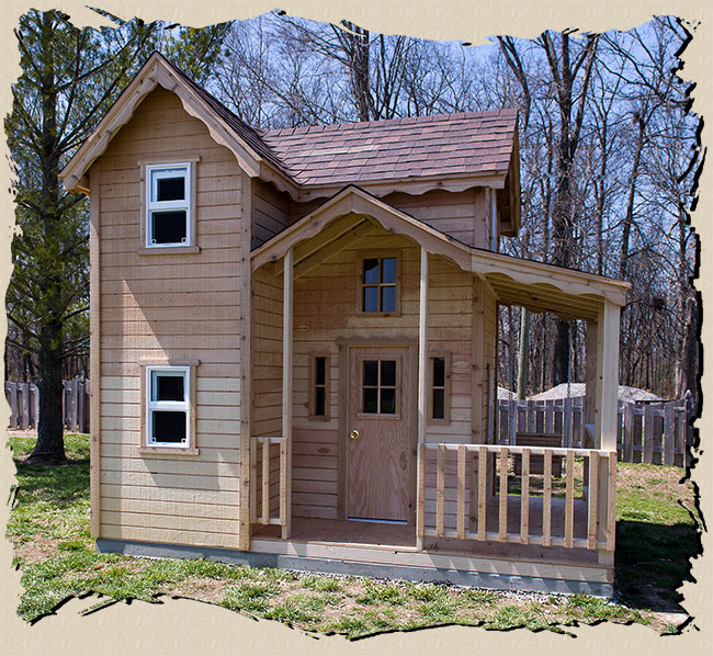 playhouse cottage plans