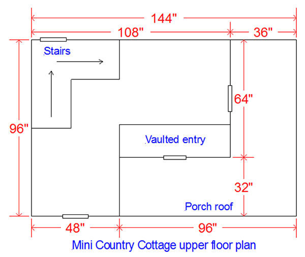 wooden playhouse floor plans