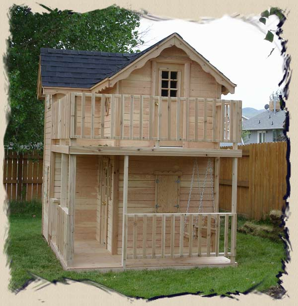 Elevated Outdoor Playhouse Plans Download easy woodworking plans kids