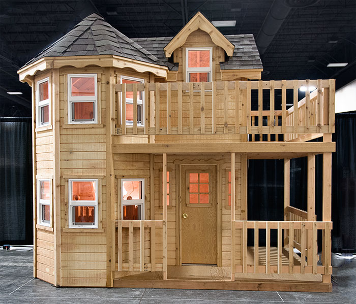 Princess playhouse plans instructions to build an outdoor ...